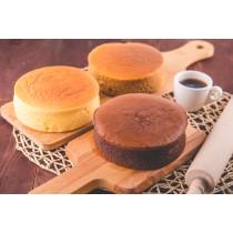 【楓月軒】北海道十勝乳酪蛋糕 (一組三入,口味任選) (無麩質, 麥芽糖醇, 蛋奶素 )