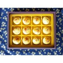 【楓月軒】中秋月餅禮盒(12入裝/盒) (3盒以上免運費)