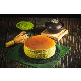 【楓月軒】京都抹茶雪克蛋糕 (無麩質, 麥芽糖醇, 低碳)